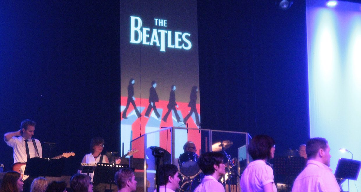 Theatre Mapping - Beatles